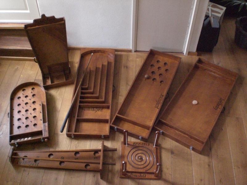 Set van 10 oud Hollandse spelen