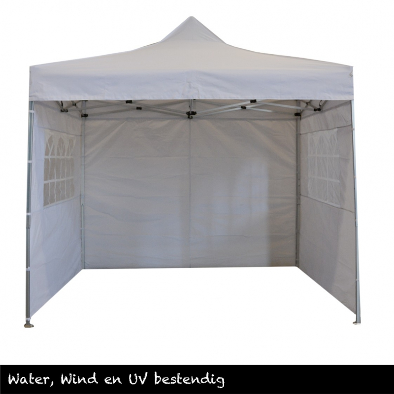 Partytent Easy-up Pagode wit 4x4