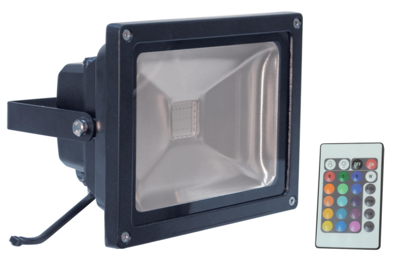 Schijnwerper Multi-Color LED 50W