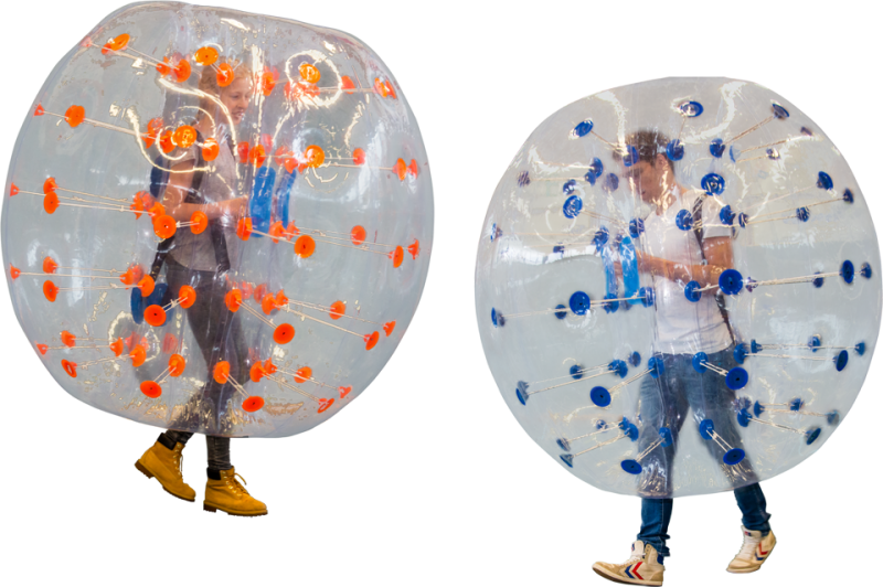 Bubble voetbal, set 8 stuks volwassenen