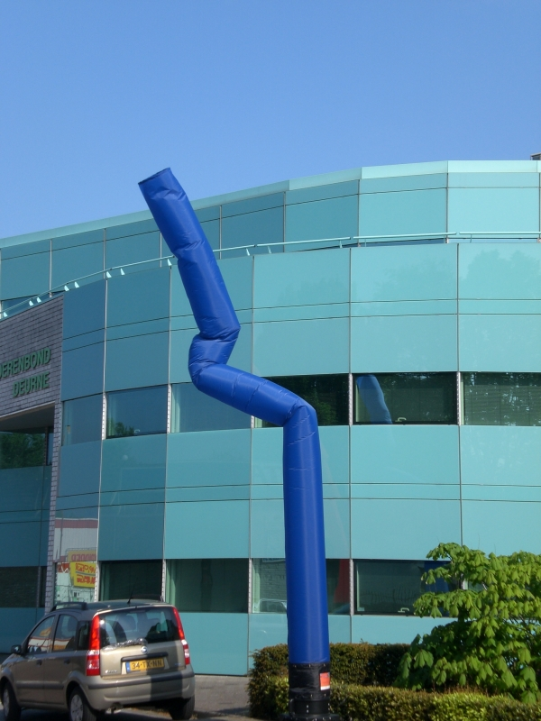Sky-tube blauw 8m