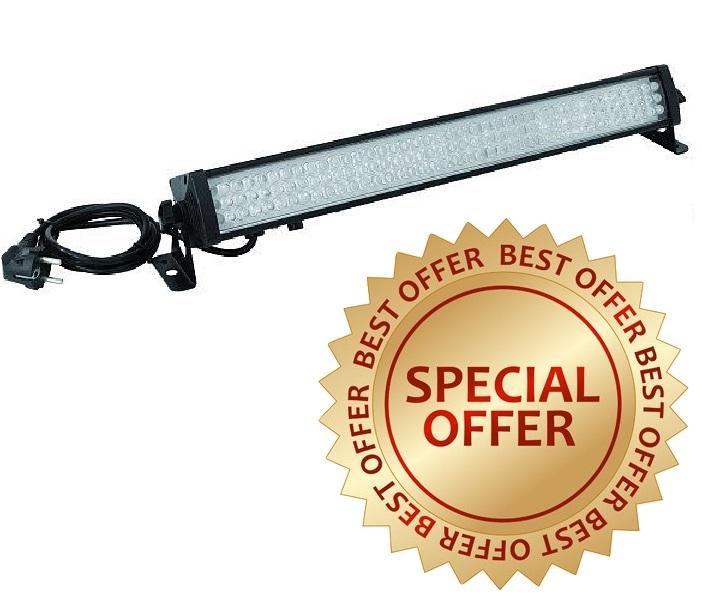 LED-bar 230V/ 28W, 126 led's, lengte 58cm