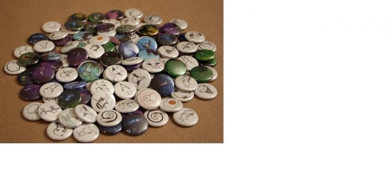 Button-onderdelen 50 stuks 56mm