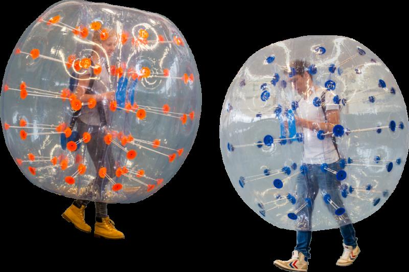 Bubble voetbal, set 8 stuks kinderen