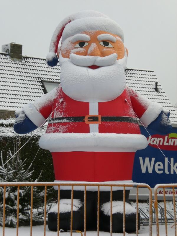 Opblaasbare Kerstman 4,5m