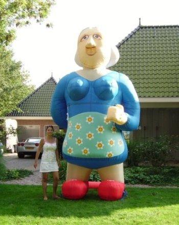 Opblaasbare Sarah oud 3,5m