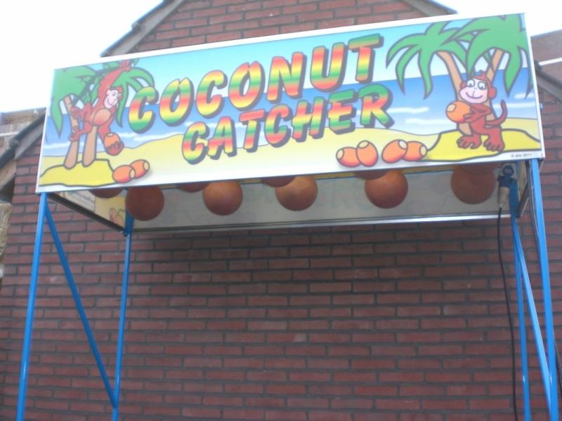 Coconut-catcher